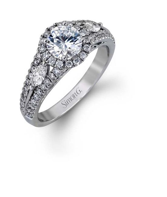 Gorgeous engagement ring from Beeghly and Company Jewelers & Gemologists, Inc.