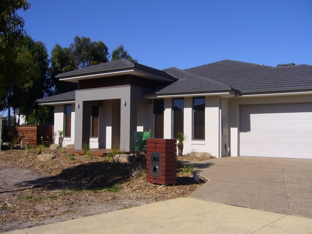 Woodland Grey Roof House Pinterest