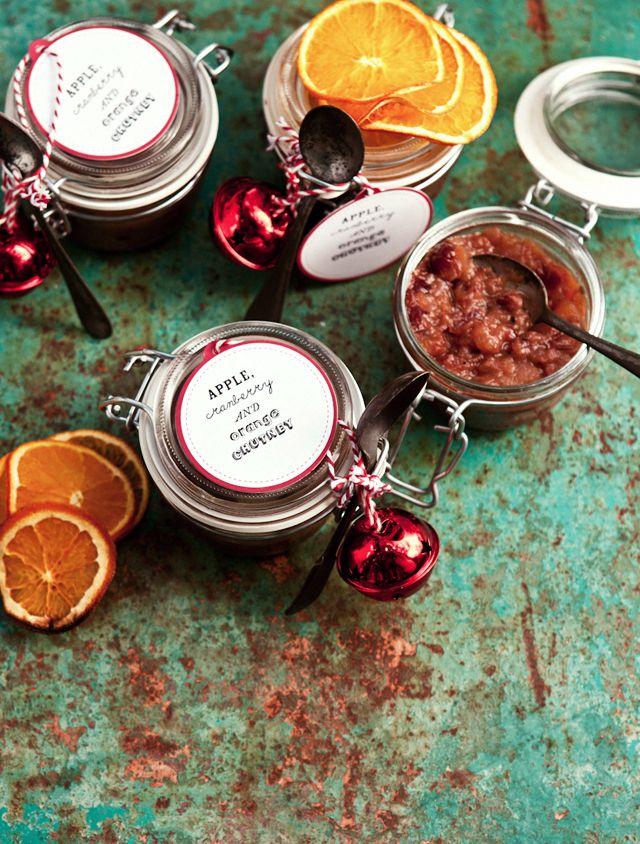 Apple Cranberry Orange Chutney / What Katie Ate