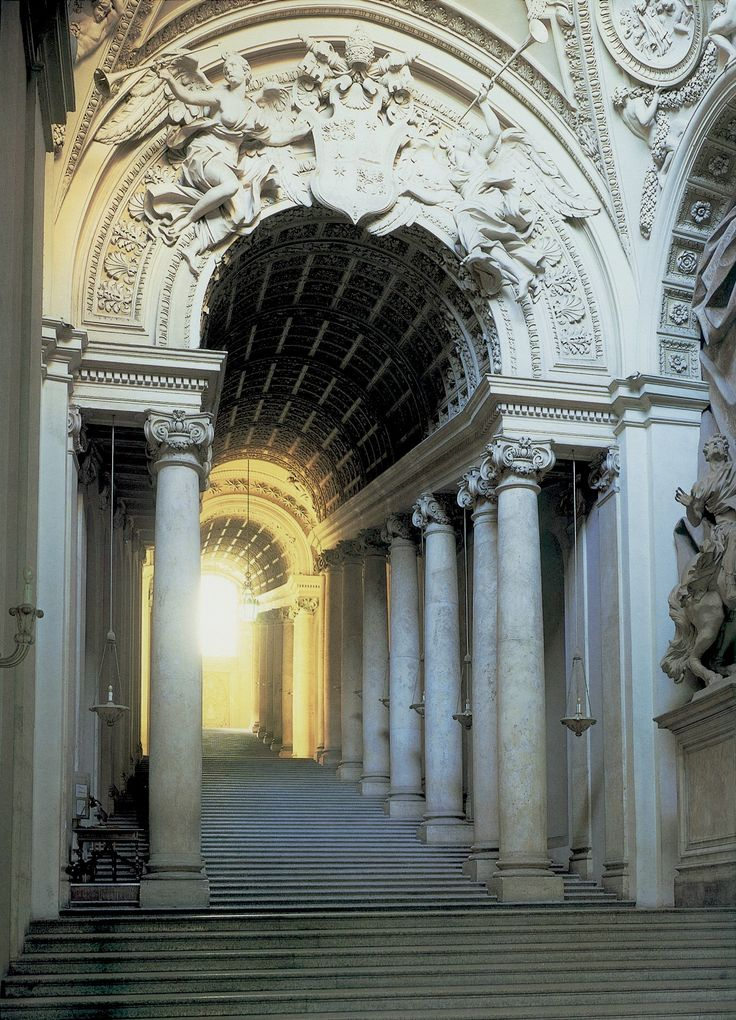 Italian Baroque Architecture  Bernini  Scala Regia