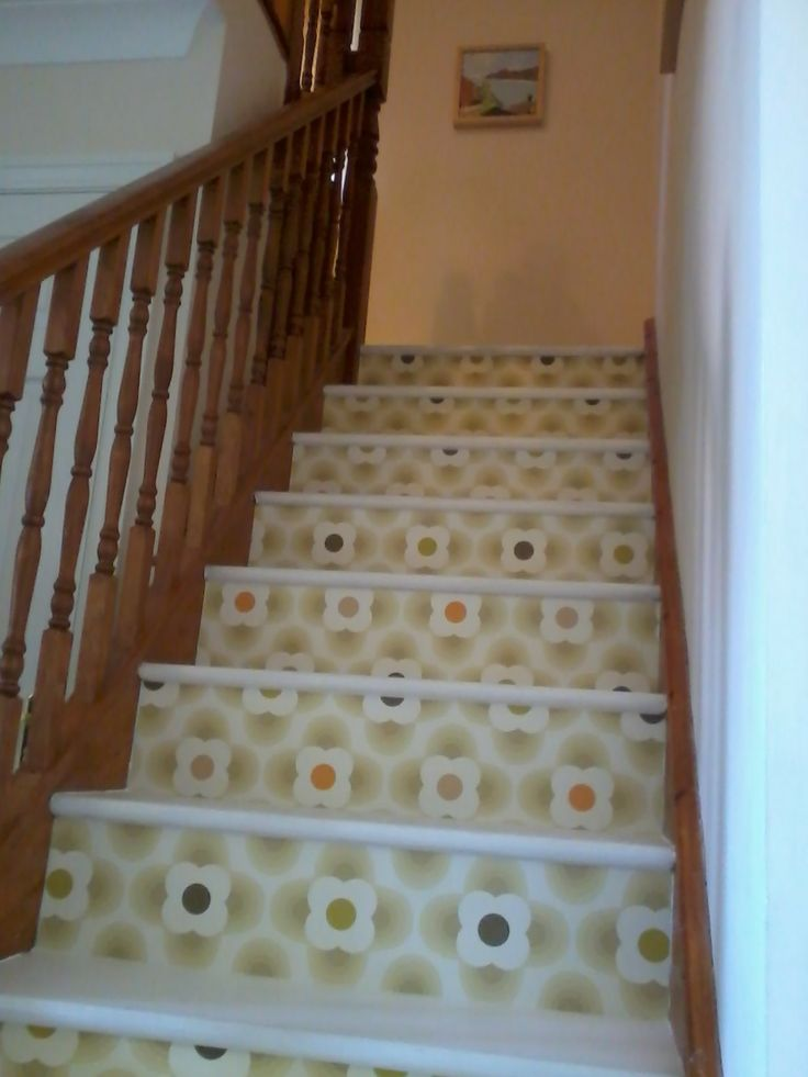 Orla kiely Wallpaper Stairs