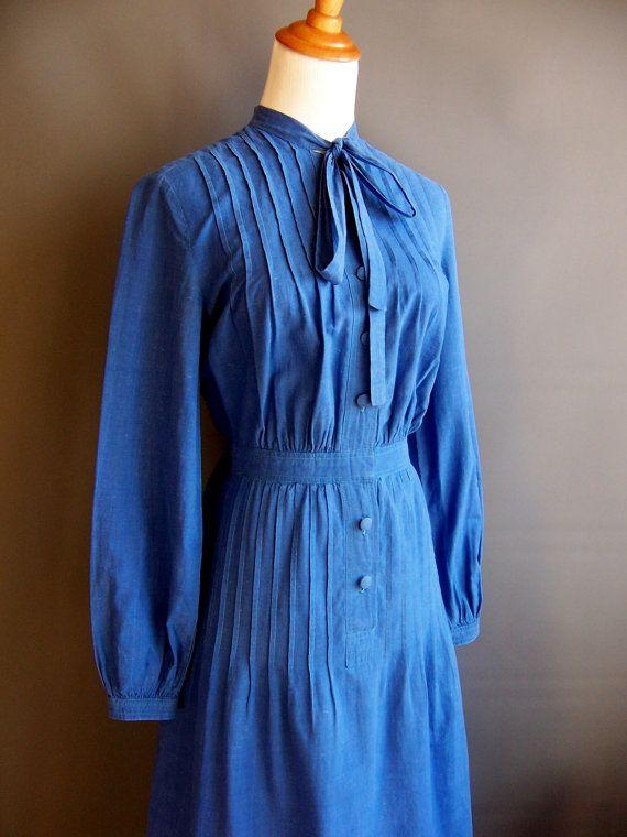 Christian Dior Kleid der 1970er Jahre bis Anfang der von edgertor