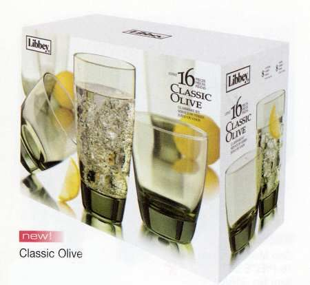 Libbey Glass Company, Classic Olive at Replacements, Ltd