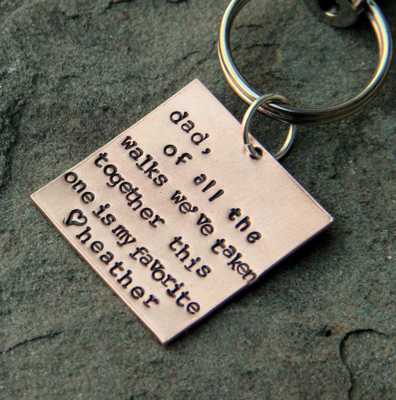 Father of the Bride Dad Wedding Gift, Gift for Dad From Daughter, Of all the Walks We've Taken - Personalized Daddy Wedding Gift,