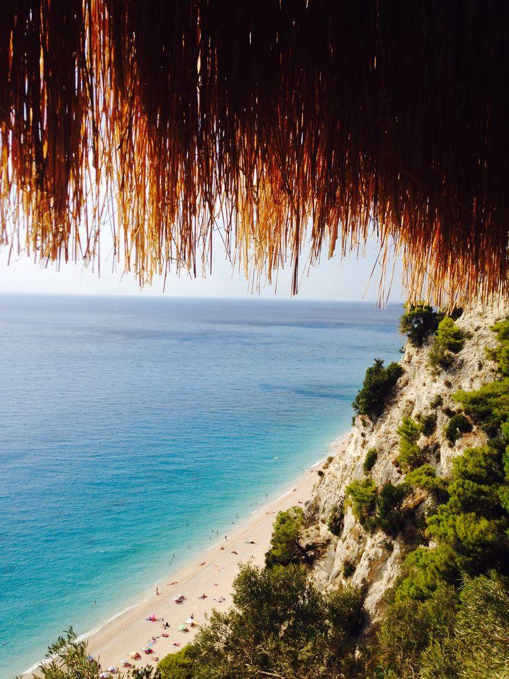 Summer mood in Lefkada  #Greece #Egremni #beach