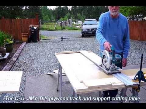 How to C. U. JMY. support and cutting table walk through