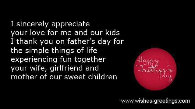 Father's Day Quotes From Wife | ecards for husband from wife...