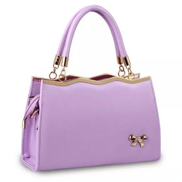 The cutest little purple purse So so cute purple purses Bags