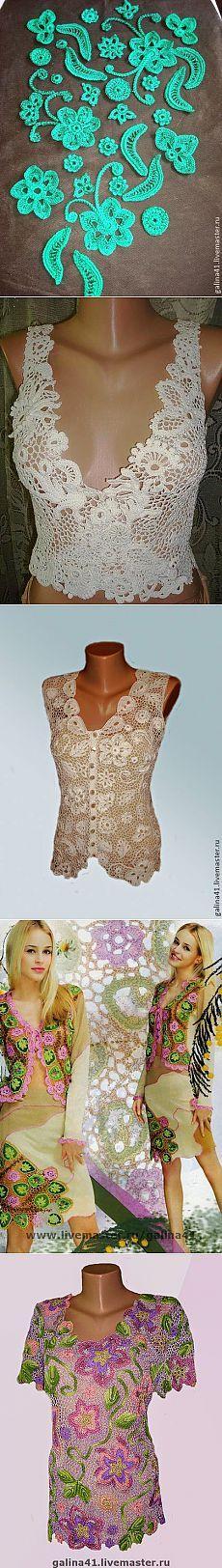 Irish crochet &: Мастер Галина Андриенко