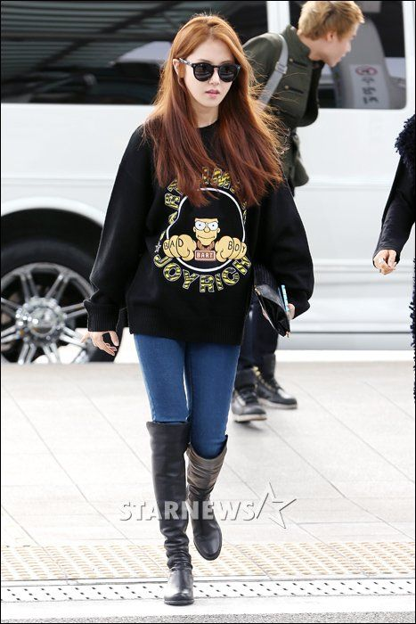 Gayoon #4minute | airport fashion