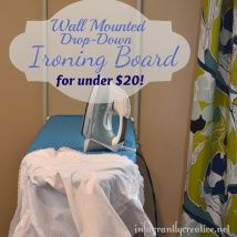 Wall Mount Ironing Board For Cheap! | Ironing Boards