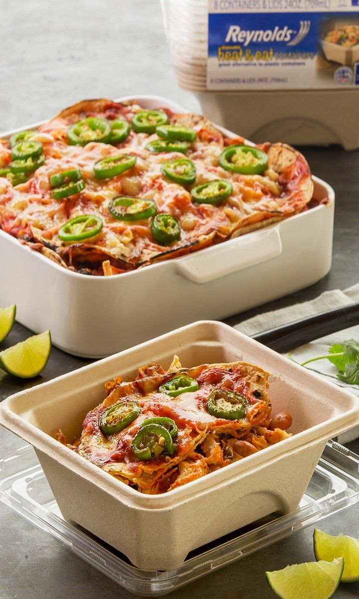 [ad] Jalapeños, limes, and salsa, oh my! These creamy, rich enchiladas are perfect for a quick, weeknight meal and even better reheated for lunch the next day.