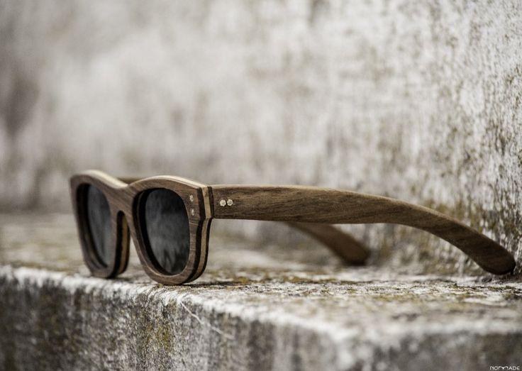 Anteojo de madera, lentes polarizados | Nomade