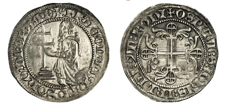 NumisBids: Numismatica Varesi s.a.s. Auction 67, Lot 479 : RODI DIEUDONNE' DI GOZO (1346-1353) Gigliato. D/ Il Gran...