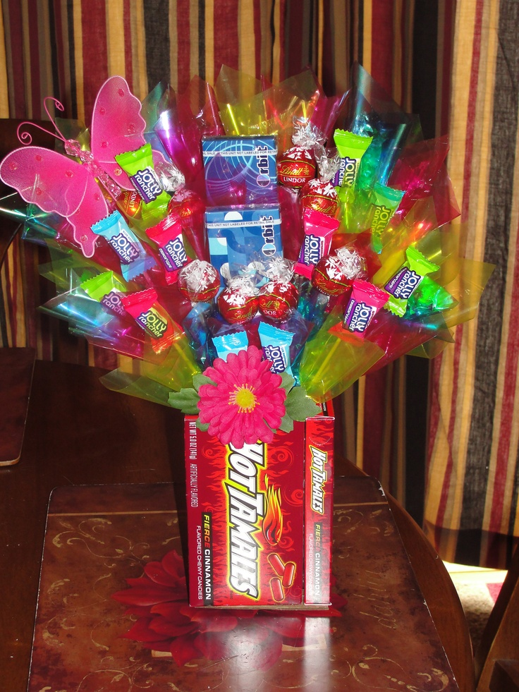 Top 109 Ideas About Candy Bouquets On Pinterest Get Well