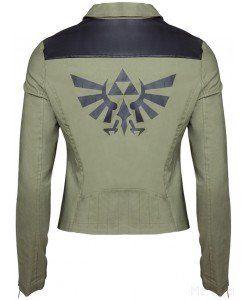 Zelda: Breakin' the (Hy)rules Ladies Biker Jacket