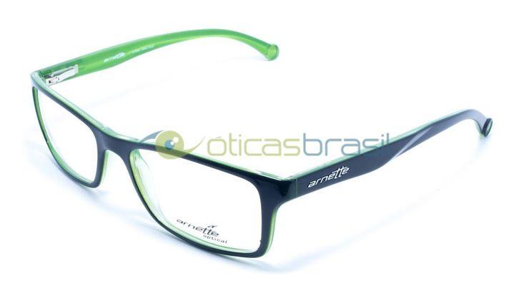 """Fundada em 1992 na Califórnia, a marca Arnette cria óculos voltados para o público jovem (e para os """"sempre jovens""""). Com produtos de alta qualidade e um estilo esportivo e descontraído a marca conquistou o público jovem e ganha cada vez mais fãs. Compre já a sua armação Arnette AN 7073L e complete seu visual!  http://www.oticasbrasil.com.br/arnette-an-7073l-2261-oculos-de-grau"""