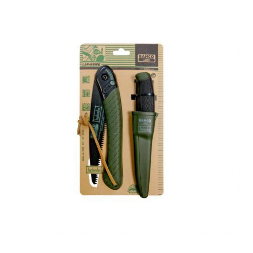 Saws 139869: Bahco Lap-Knife - Foldable Saw And Knife Set -> BUY IT NOW ONLY: $34.78 on eBay!