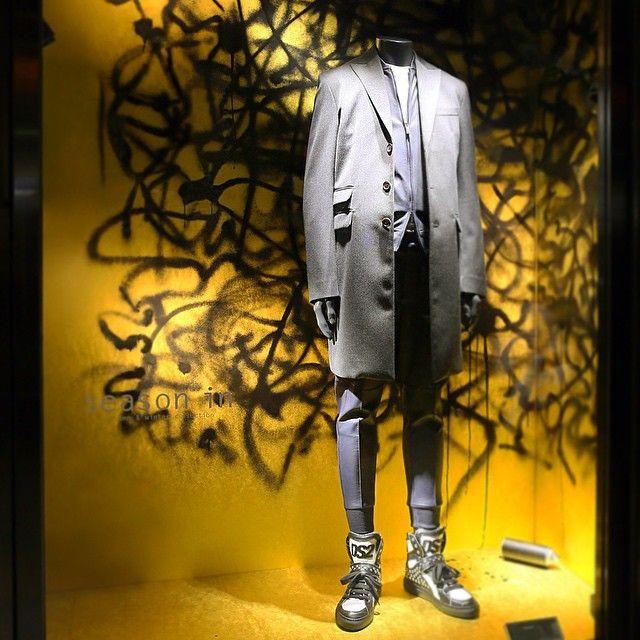 "ISETAN SHINJYUKU MEN'S, Tokyo, Japan, ""Graffiti Creator"", for DSQUARED, pinned by Ton van der Veer"