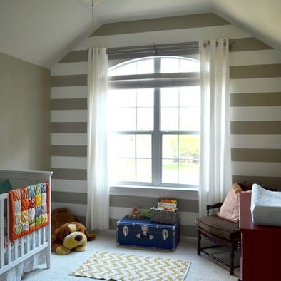 Striped accent wall kids pinterest for Accent stripe wall