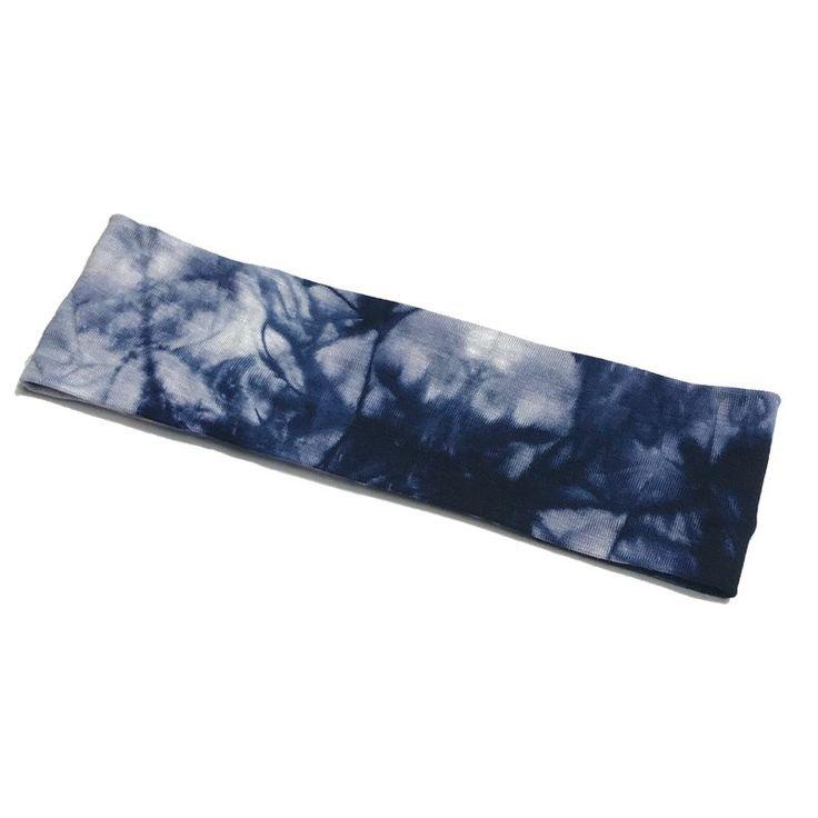 Tie Dye Stretch Athletic Headbands