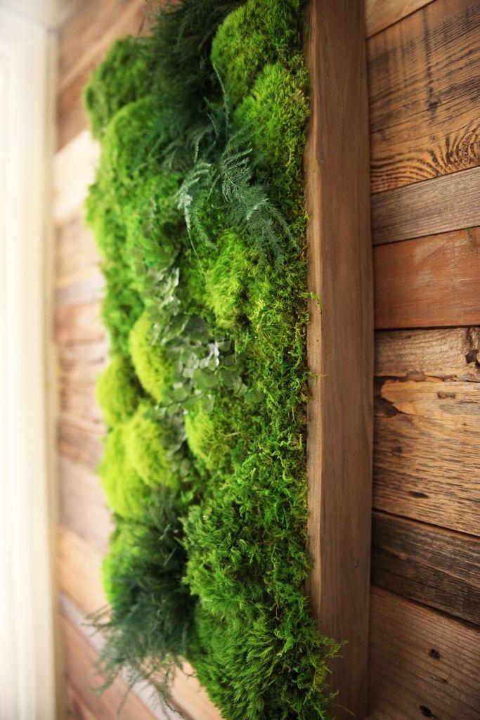 25 best ideas about moss wall art on pinterest moss wall moss art and art interiors - Wall decor for green walls ...