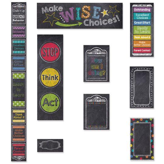 Chalk It Up! Behavior Clip Chart & Desktop Clip Chart