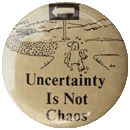 Uncertainty is not chaos