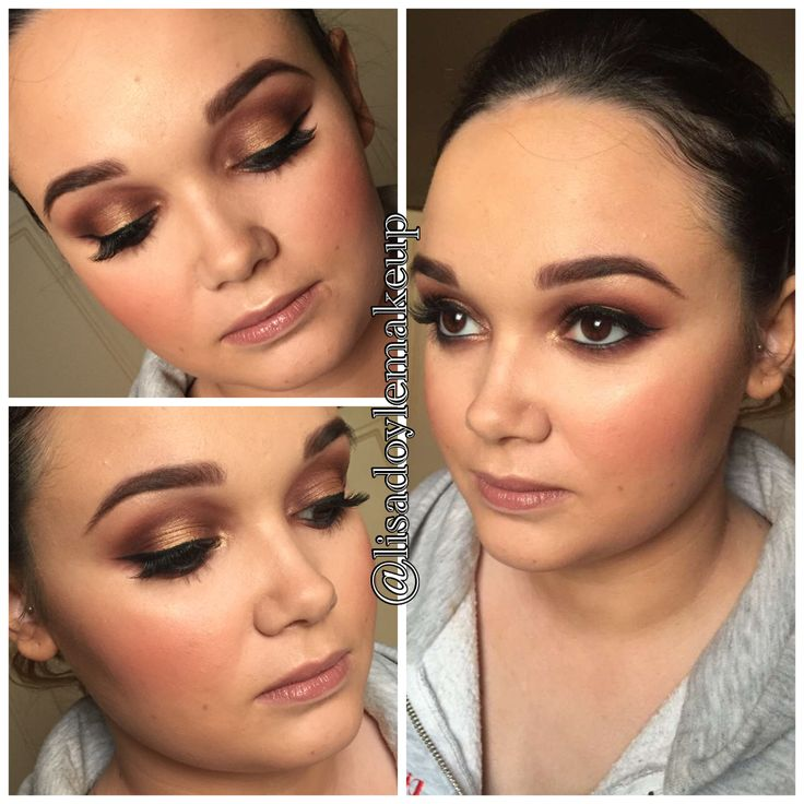 New Years Eve Makeup Look burgundy smokey eye with gold pigment lid