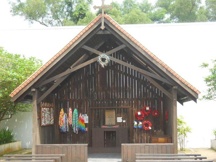 Chapel at Changi Prison Museum