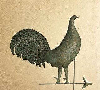 Museum Craft Collection - American Folk Art Museum Rooster Weather Vane - eclectic - artwork - by Pottery Barn