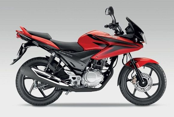 2011 Honda CBF 125 has 125 cc and it's a nice bike. It does not consume a lot and it is very reliable. It is lightweight, less than 130 pounds