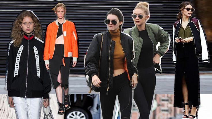 Colección primavera 2016 Alexander Wang y Rag & Bone. Kendall Jenner y Gigi Hadid, Olivia Palermo.