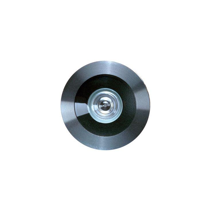 Türspion SPY 35-37 - Ein Türspion wird gern übersehen und doch leistet er unverzichtbare Dienste. Wir denken, dass sich auch ein Türspion einordnen soll in eine einheitliche Gestaltung. Der PHOS Türspion wird feingedreht und hat eine Glasfrontlinse, die einen Blickwinkel von 200° zulässt.