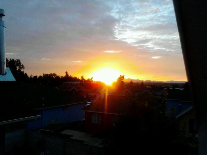 Sunset Santiago, Chile Summer 2013