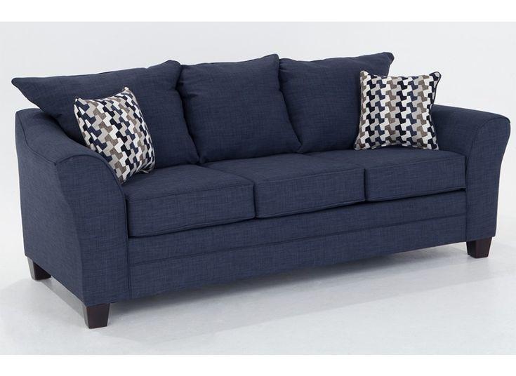 Adrina Denim Sofa | Outlet | One-Shot Deals | Bob's Discount Furniture