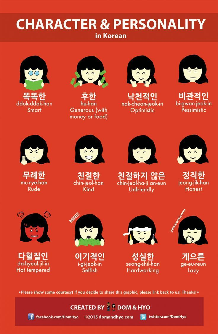 best ideas about korean words korean language so here are a few words to describe personality and character in korean these should