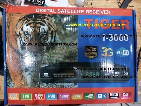 TIGER i 3000 HD RECEIVER POWERVU KEY FIXED NEW SOFTWARE | star look