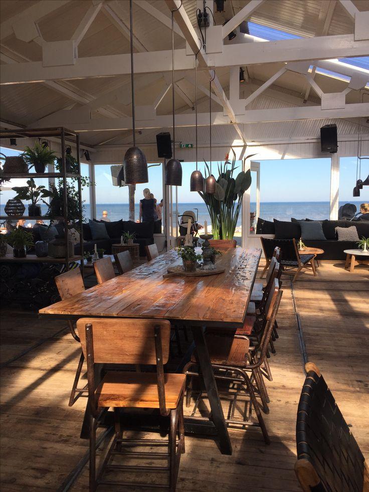 Interieur strandtent Ubuntu Zandvoort