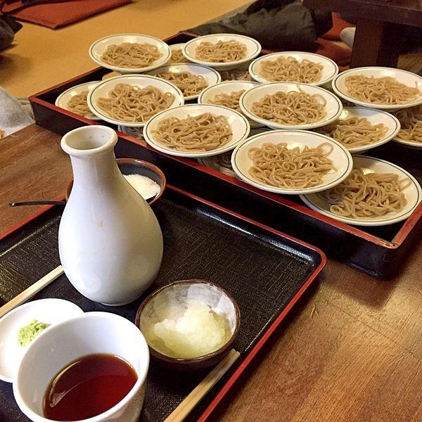 兵庫郷土料理出石そば情緒あふれる城下町でほっこり食す