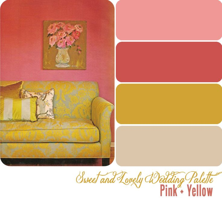 1000 ideas about pink yellow weddings on pinterest. Black Bedroom Furniture Sets. Home Design Ideas