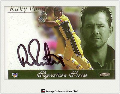 Cricket Cards 25579: 2002-03 Esp Acb Cricket Limited Edition Box Set Signature Card Ricky Ponting -> BUY IT NOW ONLY: $125 on eBay!
