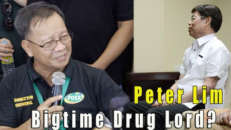 PDEA Chief Lapena Presscon on Chinese Bigtime Druglord Peter Lim   Drug ...