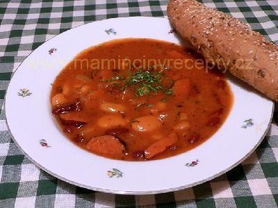 Rychlý fazolový guláš