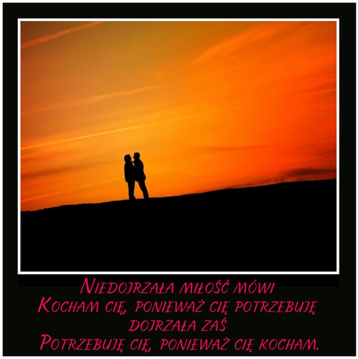 """Niedojrzała miłość mówi """"kocham cię, ponieważ Cię potrzebuję""""; Dojrzała zaś """"Potrzebuję Cię, ponieważ Cię kocham""""  #agrorandka #agrodate #love #miłość #rolnictwo #agriculture #country #cytaty #sentencje #aforyzmy #omilosci"""