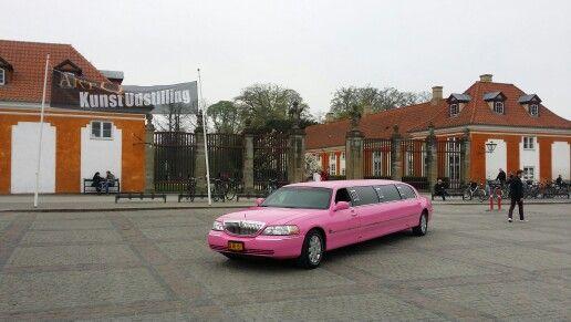 Rosa Limousine i Köpenhamn