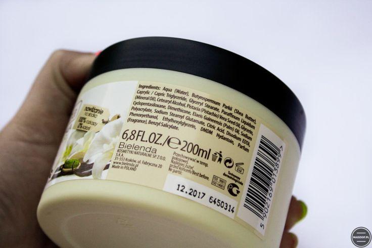 Bielenda Appetizing Body Spa – Masło do ciała wanilia + pistacja. [Recenzja] | Madziof .pl