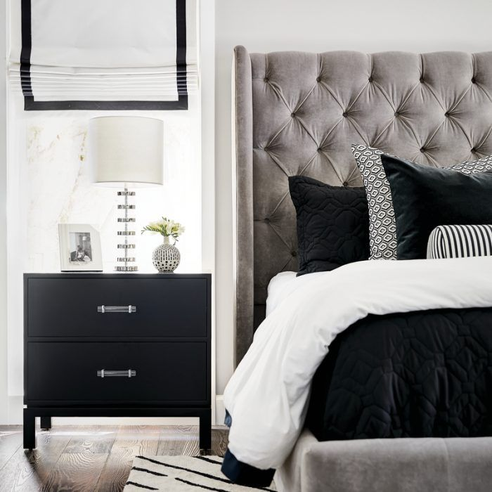 A Modernist House With Regency Details Dazzles Luxe Bedroom