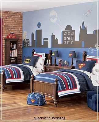Superhero Bedroom @Ashlea Tegman Tegman Tegman Badgett