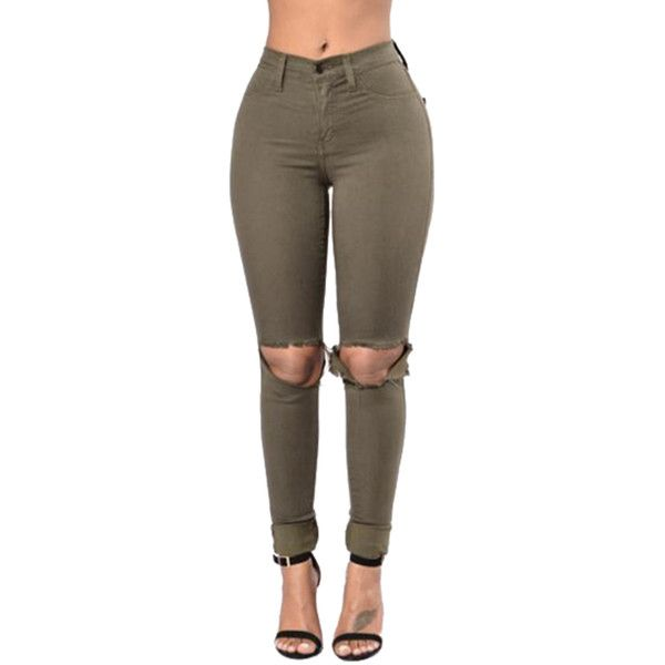 25  best ideas about Olive green jeans on Pinterest | Green jeans ...